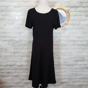 Madewell black dress